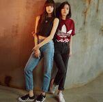 Lisa & Jisoo for Adidas Korea (1)