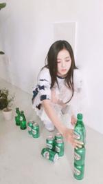 Jisoo IG update with Trevi 2