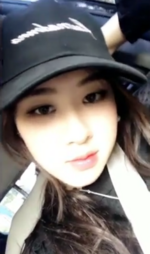 Chaeyoung in the car 2