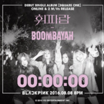 Black Pink Square One coundtown