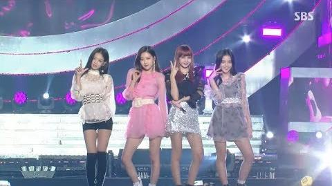 BLACKPINK - '마지막처럼 (AS IF IT'S YOUR LAST)' 1001 SBS Inkigayo
