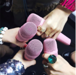 BLACKPINK holding their mics Japan Showcase IG Update 2