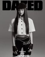 Jennie for Dazed Korea Magazine April 2019 Issue