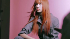 Lisa screencap for Elle x Rouge Dior Liquid Video 2