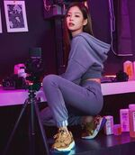 Jennie for Adidas Falcon IG Update 181129 2