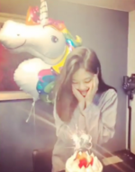 Jennie's Birthday IG Update 160118 5