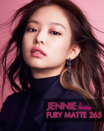 Jennie for Elle x Rouge Dior Liquid