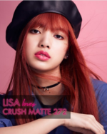 Lisa for Elle x Rouge Dior Liquid