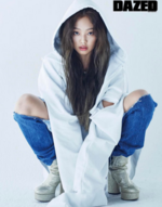 Jennie Dazed Korea April Issue 3