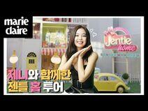 제니의 젠틀 홈 투어🏡💗 JentleHome Tour with Jennie 마리끌레르