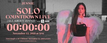 Jennie SOLO Countdown Live All About Jennie Counter