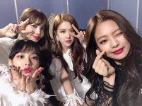 BLACKPINK at SBS Gayodaejun 2017 Instagram Update 171225 3