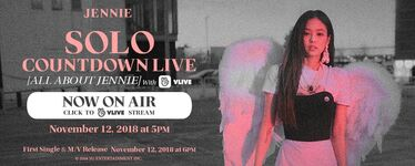 Jennie SOLO Countdown Live All About Jennie Counter 2