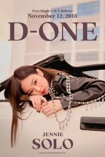 Jennie SOLO D-ONE Poster