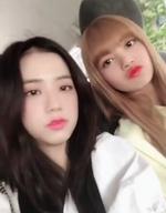 Jisoo IG Update with Lisa 180830