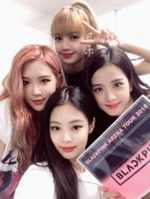 YGEX Staff Twitter Update with BLACKPINK 180725