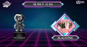 BLACKPINK MCountdown DDDD win 180701