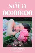Jennie SOLO Counter Poster