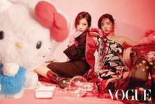 Vogue 2018 Jennie & Jisoo