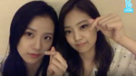 Jisoo and Jennie V Live 170901