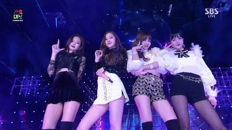 BLACKPINK - '마지막처럼 (AS IF IT'S YOUR LAST)' in 2017 SBS Gayodaejun