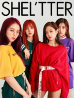 BLACKPINK for Shel'tter x Nylon Japan Special Collaboration