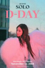 Jennie SOLO D-DAY Poster