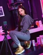 Jennie for Adidas Falcon IG Update 181129