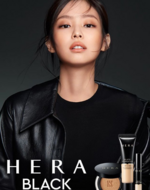 Jennie for Hera Black Foundation + Concealer 2