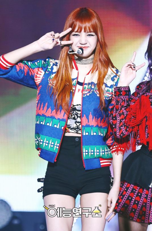 Image Lisa As If It S Your Last Music Core 170708 Jpg Black Pink