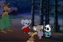 Blinky Bill and Strange Koala Blinky gang and Madam Wu