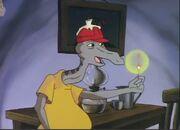 Blinky Bill and Earthquake Goanna