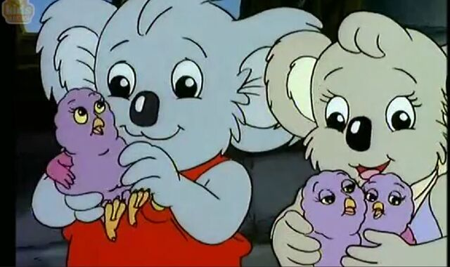 Blinky Bill Nutsy Pants: Blinky Bill And Winter Tale Blinky,Nutsy And Baby