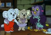 Blinky Bill Winter´s tale