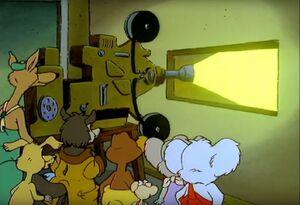 Blinky Bill and Possum Cinama