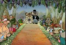 Blinky Bill´s Wedding picnic Wedding