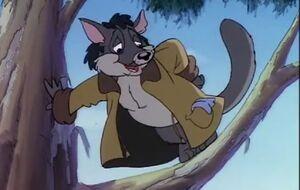 Blinky Bill is kidnapped Slick the Possum