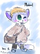 Mabel inktober day 1