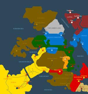 Blisland 1775 map