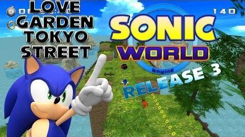Blitz Sonic - Sonic World Demo Release 3 - Love Garden & Tokyo Street