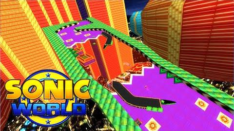 Sonic World - Casino Park