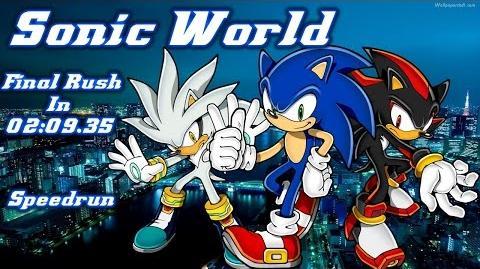 Sonic World Beta 4 - Final Rush in 02 09