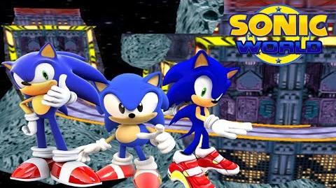 Sonic World Team Sonic The Hedgehog Final Rush