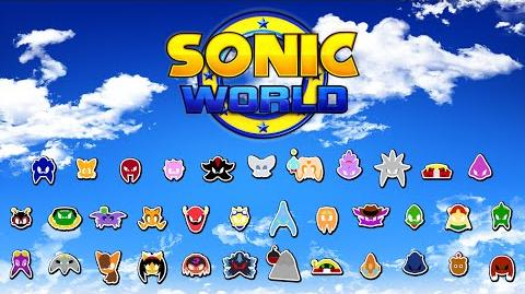 Sonic World - Complete Character Roster (and Victory Poses)
