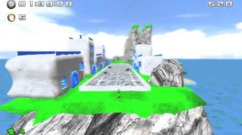 Sonic World engine port Sonic Run act 1