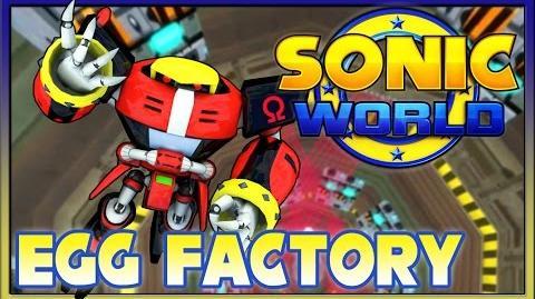 Sonic World Egg Factory w Blaze, Omega & Cream (Custom Level)