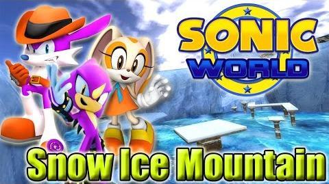 Sonic World - Snow Ice Mountain (Custom Levels 7)