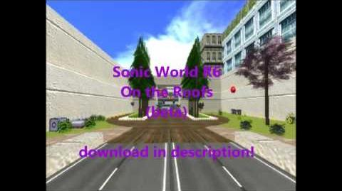 Sonic World R6 On the Roofs download