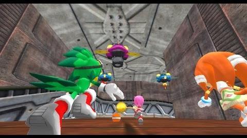 Sonic World Egg Factory W Random Team