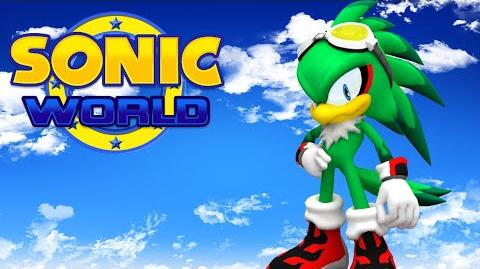 Sonic World - Jet the Hawk gameplay